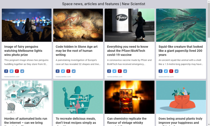 Create new RSS Feed