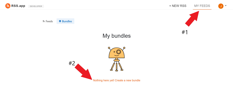 Create Feed Bundle